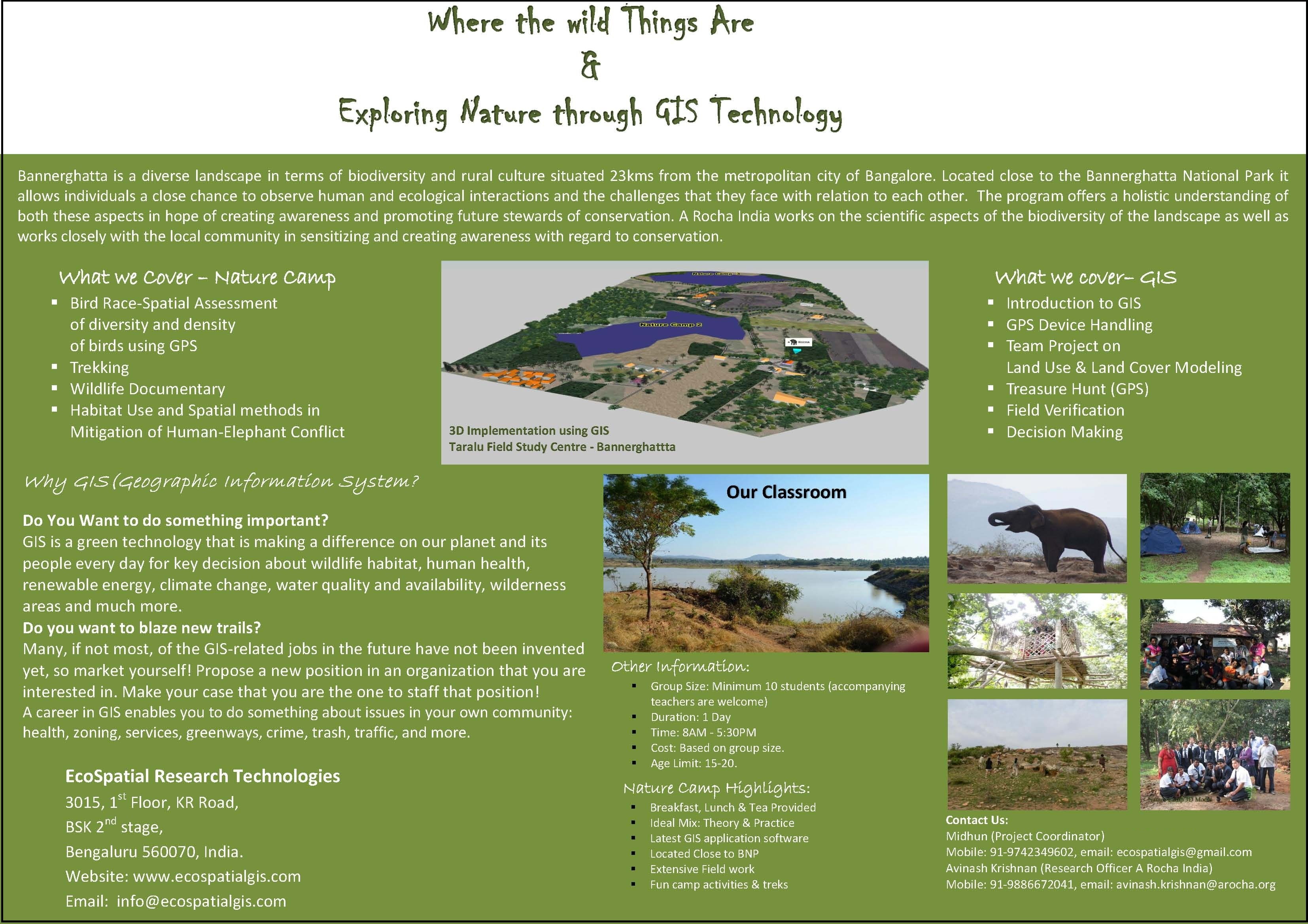 GIS Nature camp Brochure